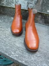CHEANEY GENTLEMEN'S CHELSEA BOOTS – BROWN / TAN – UK 7 – BEDALE - EXCELLENT COND
