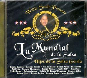 WILLIE SOTELO PRESENTTA LA MUNDIAL DE LA SALSA - CD NEW SEADED