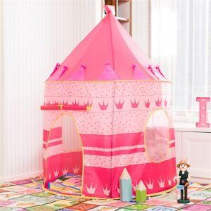 ❤️Kids PlayTent Princess Castle Playhouse Kid Children Gift Pink Indoor Outdoor