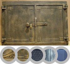 vecchio colato ferro da stiro fuoco porta/pane forno porta/stufa fumo/COLORI/480