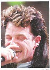 "U2 Bono @ Live Aid  magazine PHOTO / mini Poster 11x8"""
