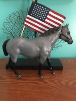 VINTAGE Breyer SLATE GRAY QUARTER HORSE COMMEMORATIVE LIMITED EDITION w/halter