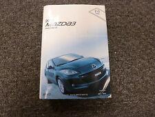 2012 Mazda 3 Mazda3 Owner Operator Manual User Guide i s SV Sport Grand Touring