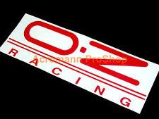 """2x 12"""" 30.5cm OZ decal sticker O.Z Racing Superleggera Superturismo vinyl wheel"""