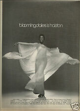 70's Halston at Bloomingdale's Fashion Ad   1974
