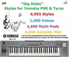''Gig Disks'' Styles for Yamaha PSR & Tyros
