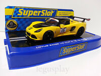 Slot SCX Scalextric Superslot H3509 Lotus Exige V6 Cup R Orange Nº15
