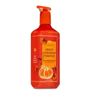 BBW SWEET CINNAMON PUMPKIN Deep Cleansing Hand Soap by Bath and Body Works