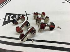 Epiphone 3 Per Side Tuners Tuning Machines Keys Nickel