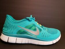 newest 9756c e9da0 Nike Free Run 3 Mens Size 9 Running Shoes Green Reflective Silver 510642 300