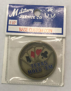 TEXAS HOLD'EM POKER GUARD COIN
