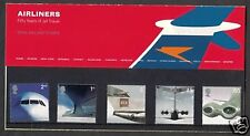 2002 JET AVIATION (AIRLINERS)  PRESENTATION PACK NO334