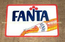 retro FANTA advert metal TIN SIGN new Cool soft drink vintage glass bottle cafe