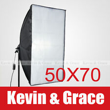 "20"" x 28"" 50 x 70cm Photo Video Studio Light Lamp Bulb Tube Softbox Soft box E27"