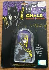 1991 DC Comics Batman Returns Washable Sidewalk Chalk in Original Package