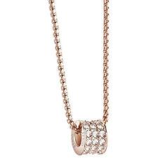 Modeschmuck-Halsketten & -Anhänger aus Perlen mit Kristall