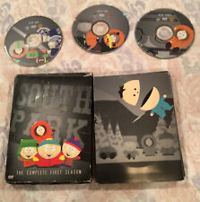 New listing South Park - The Complete First Season (Dvd, 2002, 3-Disc Set) G