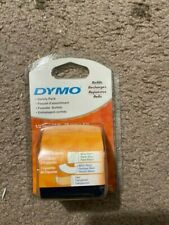 Dymo Letratag Variety Refills 1 Roll Eawhite Paper 1 White Plastic 1 Clear 5b