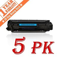 5 PK CE285A Toner Cartridges For HP 85A LaserJet P1102 P1102W M1212NF MFP