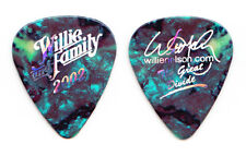 Willie Nelson Signature The Great Divide Blue Pearl Guitar Pick - 2002 Tour