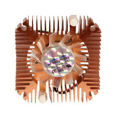 55mm Cooler Cooling Fan for CPU VGA Video Card Bronze Mini Professional FEVD