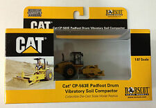 Norscot 55156 Cat Caterpillar HO Scale CP-563E Padfoot Compactor 1:87 diecast