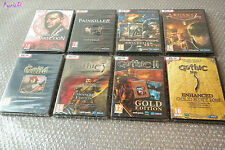 Lot 8 Super jeux PC AQUANOX GUILD GOTHIC PAINKILLER etc. ♠ 100% NEUF blister