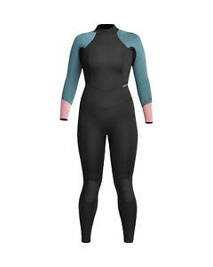 4/3mm Women's XCEL AXIS Back Zip Fullsuit