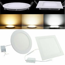 Dimmable LED Recessed Ceiling Panel Light 6W  9W 15W 18W 21W 27W DownLight Bulb