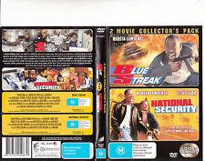 Blue Streak-1999/National Security 2002-Martin Lawrence-2 Disc-2 Movie-DVD