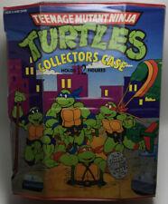 """1989 Teenage Mutant Ninja Turtles 13"""" X 11"""" Tmnt Vintage Carrying Case"""