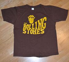RaRe *1970's The ROLLING STONES* vintage concert tour t-shirt (M/L) Mick Jagger