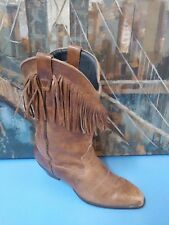 Durango Brown Distressed Leather Western Boots Women's Size 7.5M