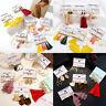 Fashion Tassel Rhinestone Crystal Pearl Earrings Set Women Ear Stud Jewelry Gift