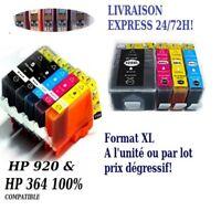 Cartouche d'encre compatible HP 364 et 920 XL Haute Qualité avec puce 48H