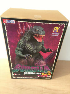 X-Plus Godzilla 1999 version 2 (Open mouth) 30cm series in mint used condition w