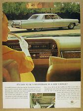 1964 Cadillac Fleetwood Sedan exterior interior dash photo vintage print Ad