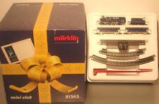 Marklin  Z:  81563 Train Set w. Steamloco, cars and Track *King Ludwig*