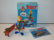 ASTERIX PLAY ACTION FIGURES 6205 CACOFONIX THE BARD 100% COMPLETE MIB CEJI