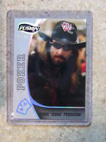 2009 Press Pass Fusion CHRIS FERGUSON Silver Parallel /99 Leaf Razor Poker