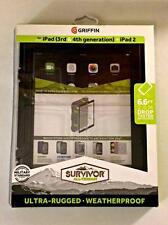 NEW Apple iPad Griffin Survivor All-Terrain Military tested MIL-STD 810G CASE