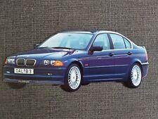 BMW ALPINA B3 E46 Limousine Sticker Aufkleber 7x17cm NEU 21