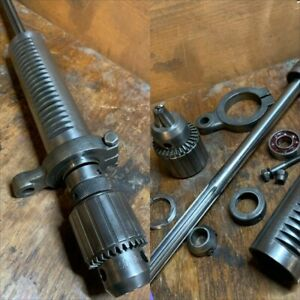 """Vintage Walker Turner 900 15"""" Drill Press -  Quill and spindle assembly"""