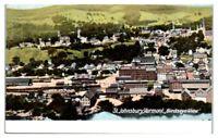 Early 1900s Bird's-Eye View St. Johnsbury, VT Postcard
