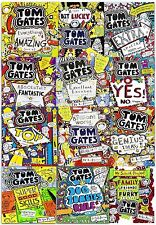 Tom Gates Liz Pichon 12 Books Collection Set Family, Friends and Furry Creatures