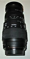 Sigma 70-300mm f/4-5.6 DG Macro Telephoto Zoom Lens for Canon ?
