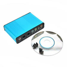 USB 6 Channel 5.1/7.1 Surround External Sound Card Audio Optical Adapter Card