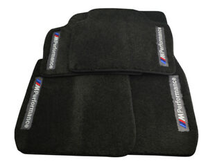Floor Mats For BMW With /// M Performance Emblem Vehicle 1990-2019 Models NEW