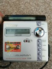 SONY Minidisc Md Mini Disc Player Recorder Walkman MZ-N707 Type-R WITH BOX