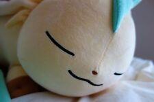Leafeon eeVee Pokemon Center LIMITED Suyasuya Sleeping Face Leafeon Plush Doll